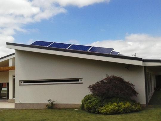 Autoconsumo de energia solar FV